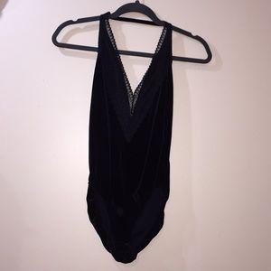 Deep V Body Suit